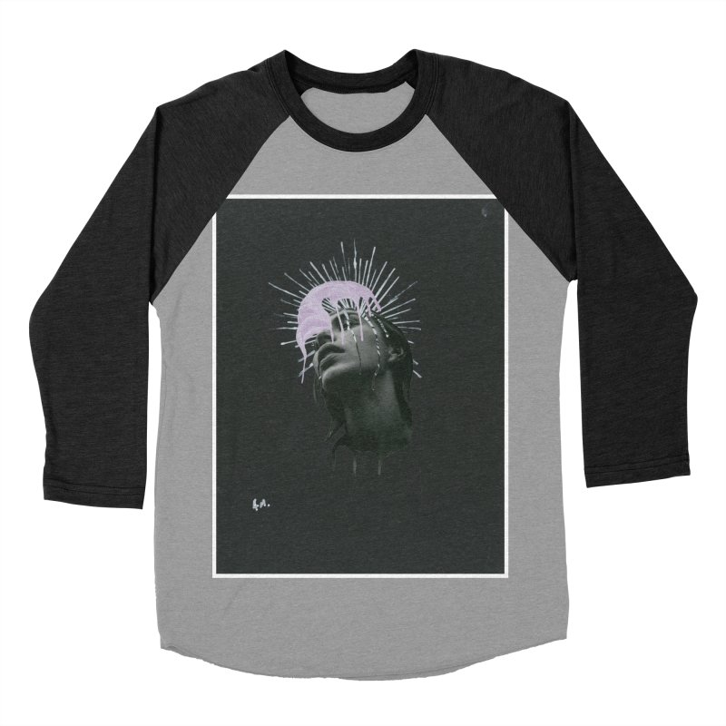Angel Grief Men's Baseball Triblend Longsleeve T-Shirt by notes and pictures's Artist Shop