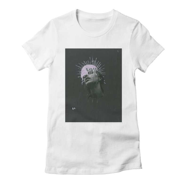 Angel Grief Women's Fitted T-Shirt by notes and pictures's Artist Shop