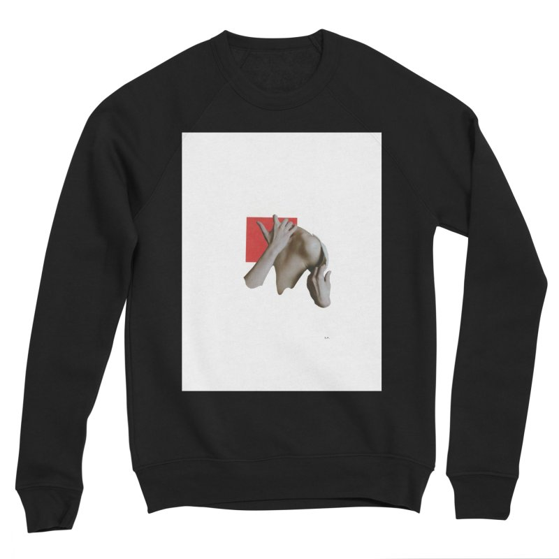 Undress Men's Sponge Fleece Sweatshirt by notes and pictures's Artist Shop