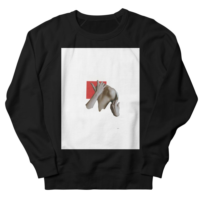 Undress Men's French Terry Sweatshirt by notes and pictures's Artist Shop