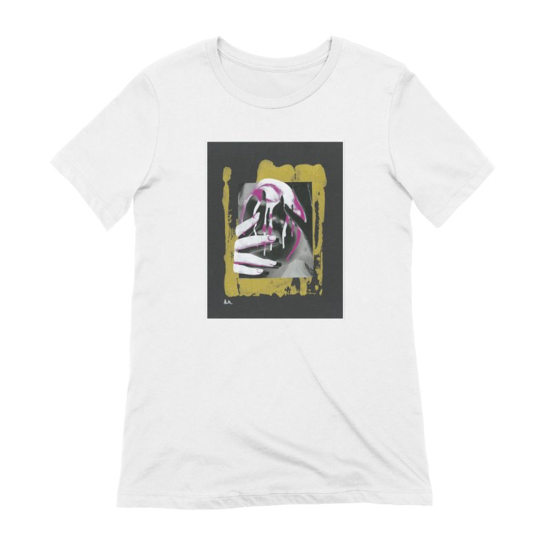 Anguish Women's T-Shirt by notes and pictures's Artist Shop