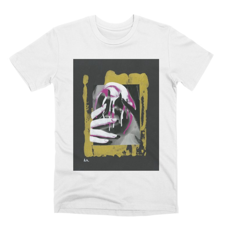 Anguish Men's Premium T-Shirt by notes and pictures's Artist Shop