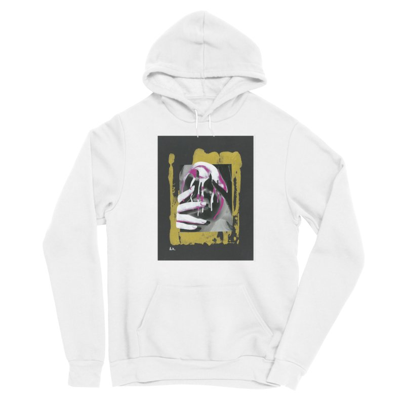 Anguish Women's Pullover Hoody by notes and pictures's Artist Shop