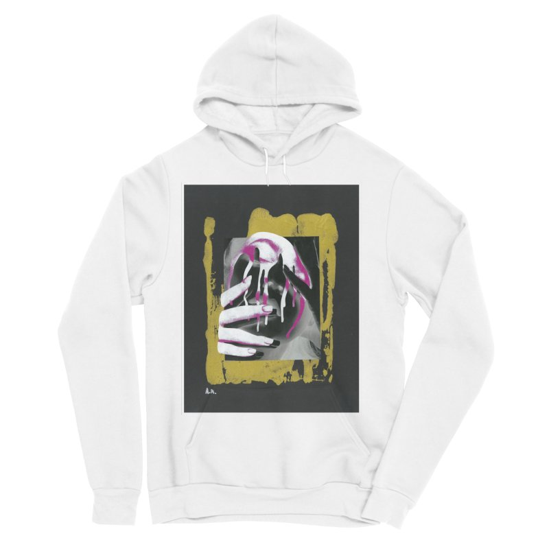 Anguish Men's Sponge Fleece Pullover Hoody by notes and pictures's Artist Shop