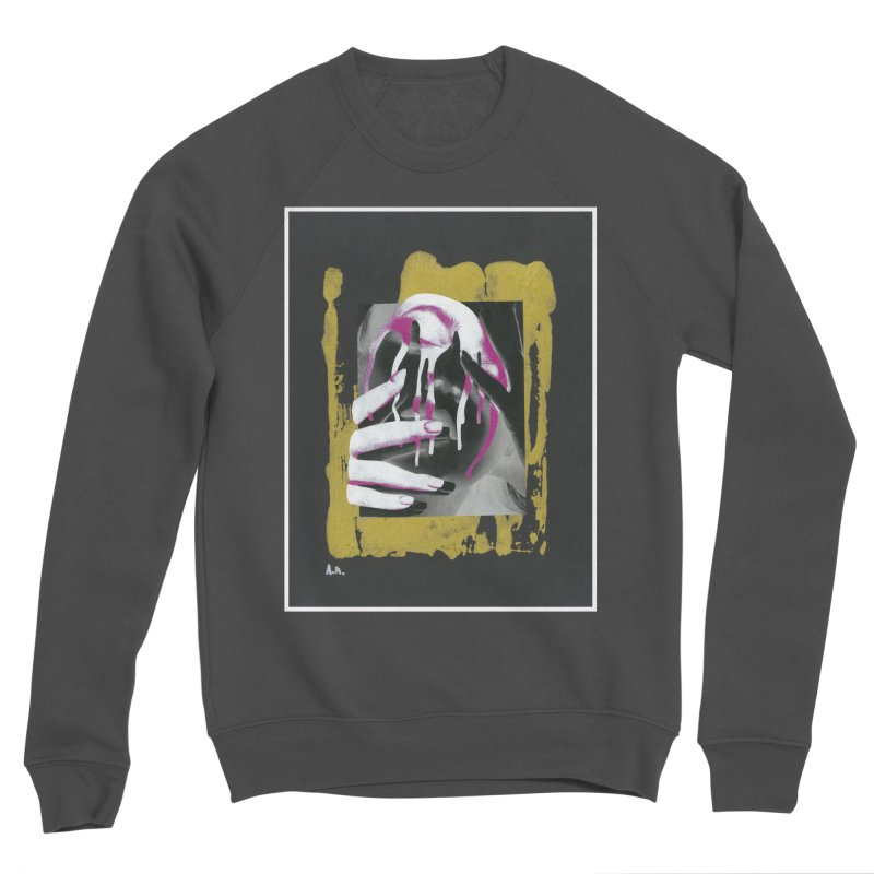 Anguish Men's Sponge Fleece Sweatshirt by notes and pictures's Artist Shop