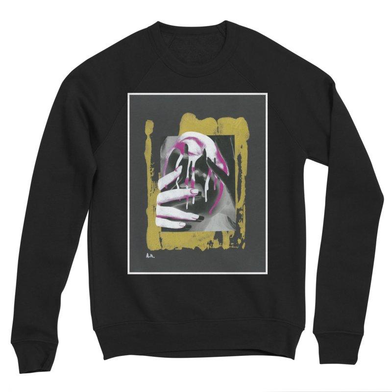 Anguish Women's Sponge Fleece Sweatshirt by notes and pictures's Artist Shop