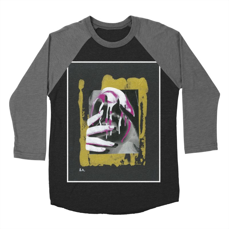Anguish Women's Baseball Triblend Longsleeve T-Shirt by notes and pictures's Artist Shop
