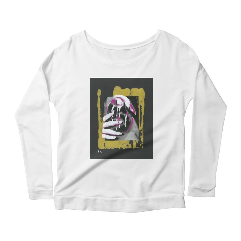 Anguish Women's Longsleeve T-Shirt by notes and pictures's Artist Shop