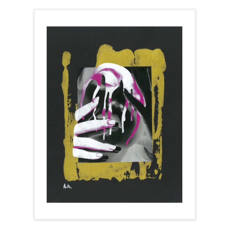 Anguish Home Fine Art Print by notes and pictures's Artist Shop