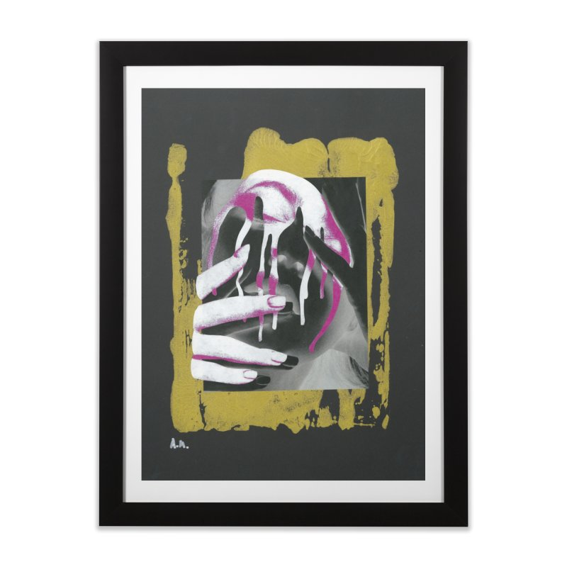 Anguish Home Framed Fine Art Print by notes and pictures's Artist Shop