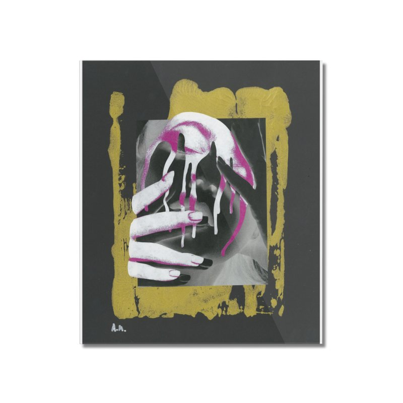 Anguish Home Mounted Acrylic Print by notes and pictures's Artist Shop