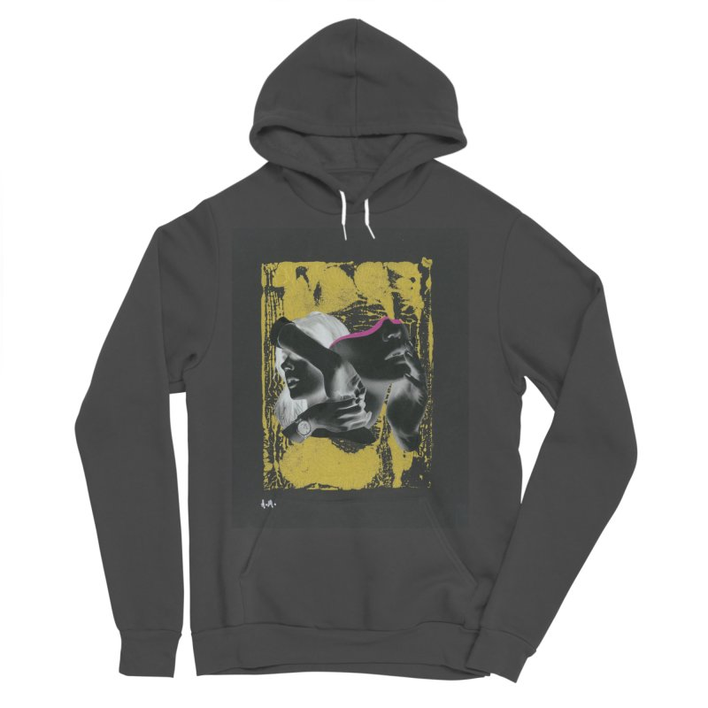 Deliberation Men's Sponge Fleece Pullover Hoody by notes and pictures's Artist Shop