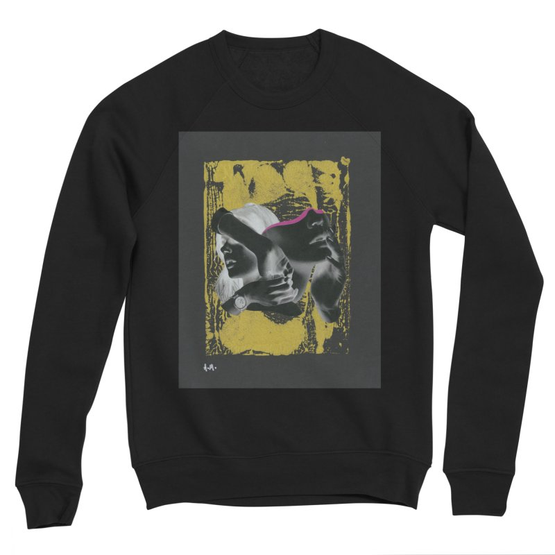 Deliberation Men's Sponge Fleece Sweatshirt by notes and pictures's Artist Shop