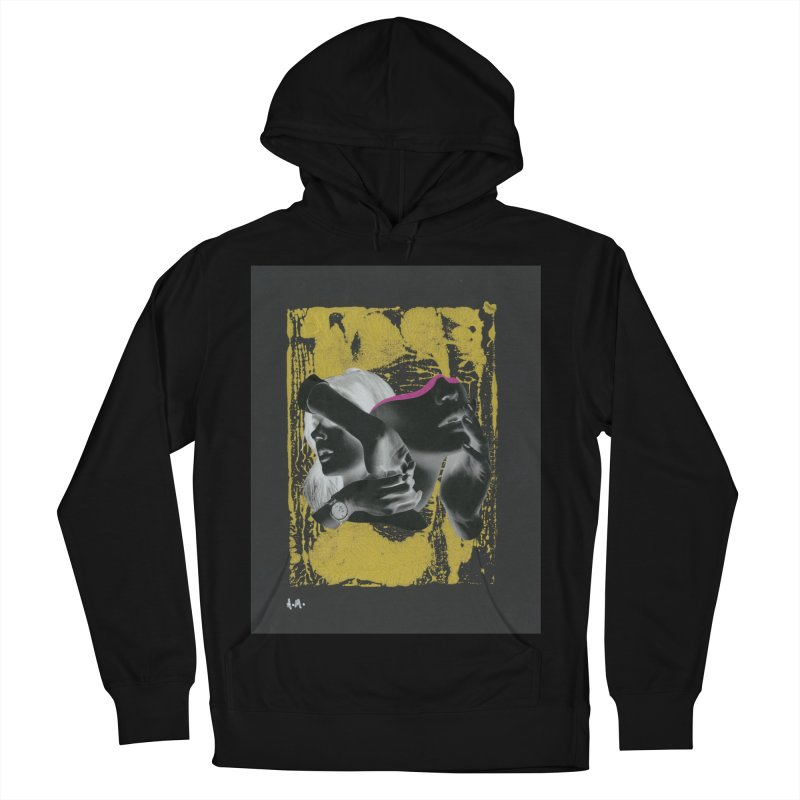 Deliberation Men's French Terry Pullover Hoody by notes and pictures's Artist Shop