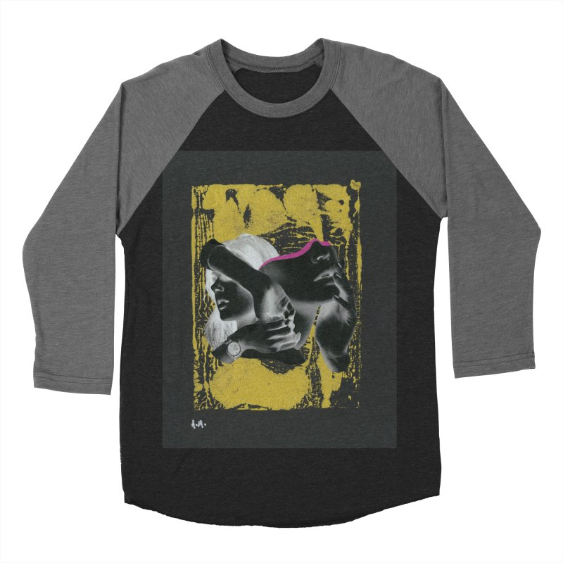 Deliberation Women's Baseball Triblend Longsleeve T-Shirt by notes and pictures's Artist Shop