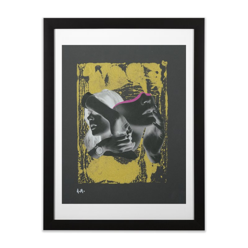 Deliberation Home Framed Fine Art Print by notes and pictures's Artist Shop