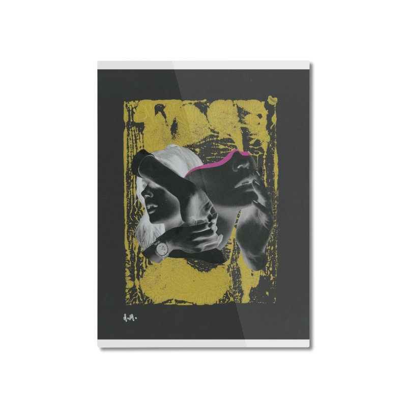 Deliberation Home Mounted Aluminum Print by notes and pictures's Artist Shop
