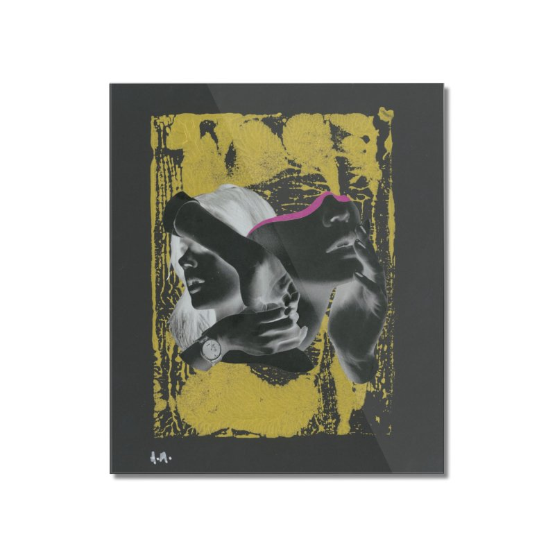 Deliberation Home Mounted Acrylic Print by notes and pictures's Artist Shop