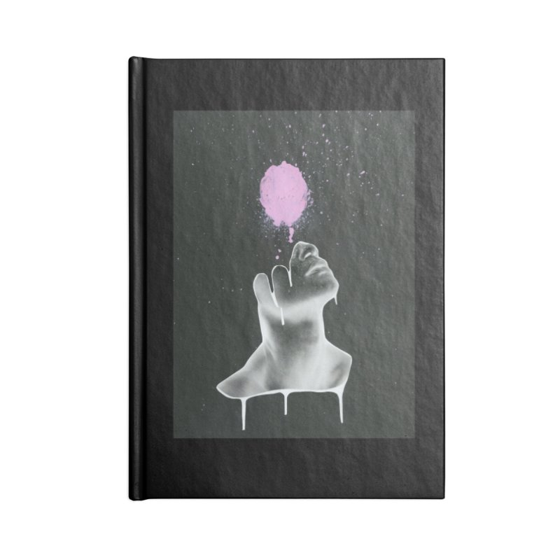 Splatter Brained Accessories Lined Journal Notebook by notes and pictures's Artist Shop