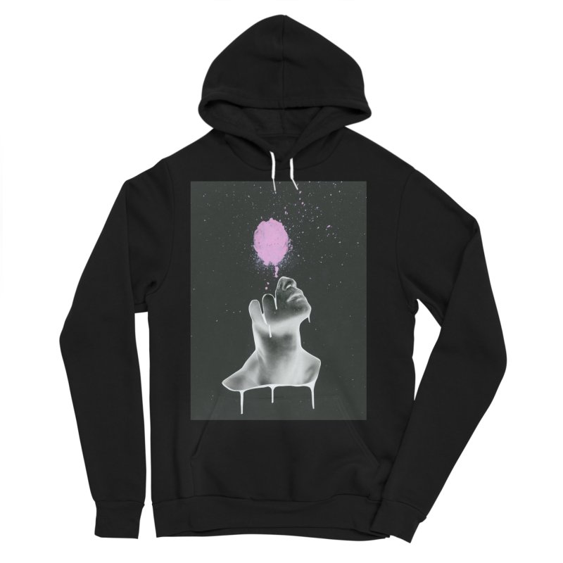Splatter Brained Men's Sponge Fleece Pullover Hoody by notes and pictures's Artist Shop