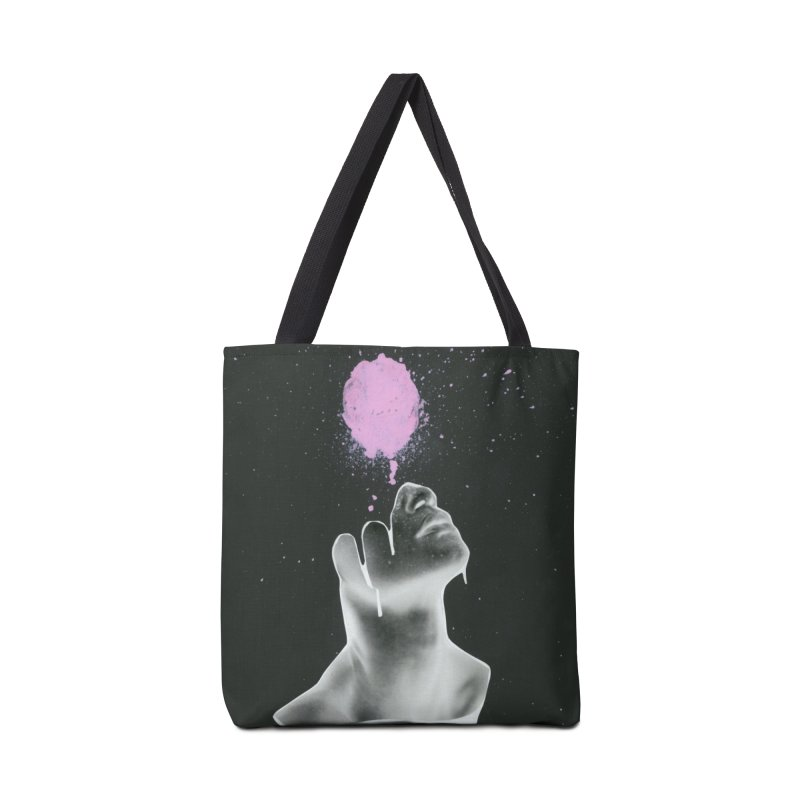 Splatter Brained Accessories Tote Bag Bag by notes and pictures's Artist Shop