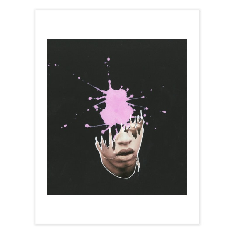 Splatter Brained 2 Home Fine Art Print by notes and pictures's Artist Shop