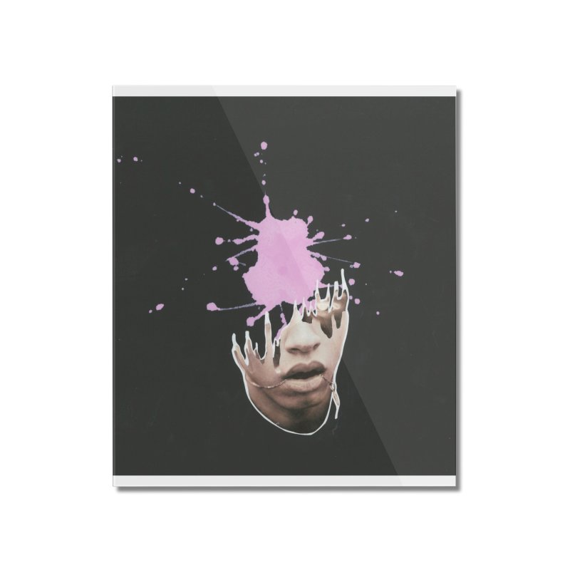 Splatter Brained 2 Home Mounted Acrylic Print by notes and pictures's Artist Shop