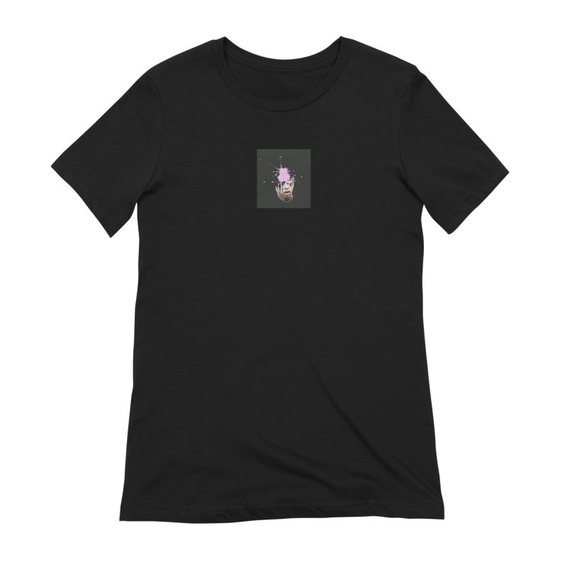 Splatter Brained 2 Women's Extra Soft T-Shirt by notes and pictures's Artist Shop