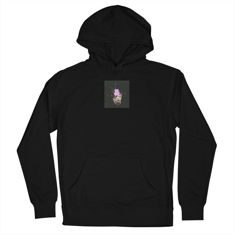 Splatter Brained 2 Men's French Terry Pullover Hoody by notes and pictures's Artist Shop
