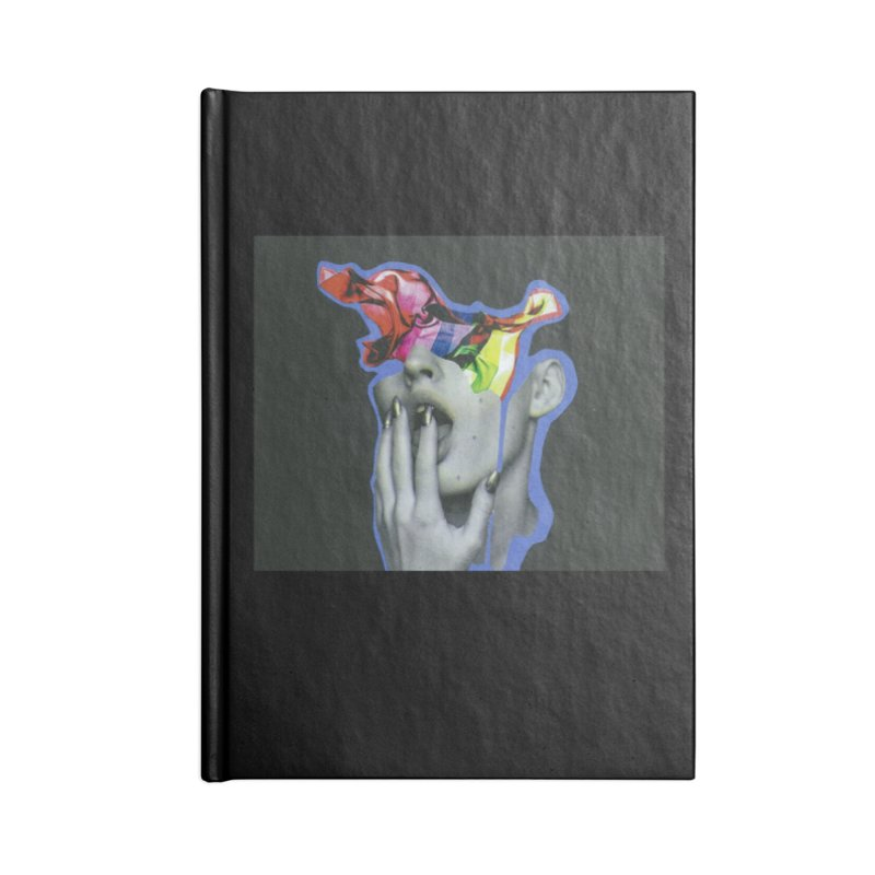 A colorful mind Accessories Lined Journal Notebook by notes and pictures's Artist Shop