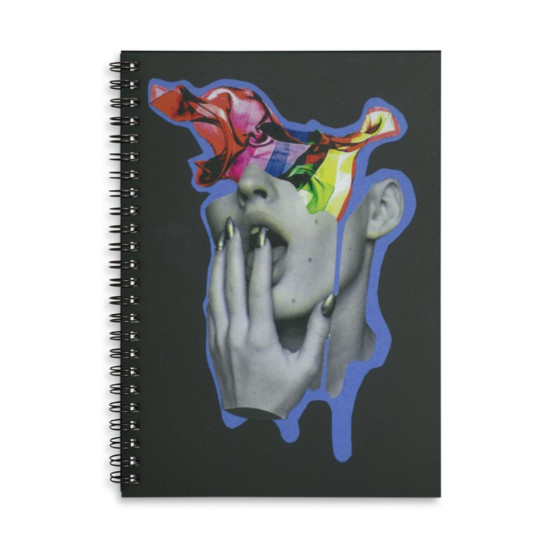 A colorful mind Accessories Notebook by notes and pictures's Artist Shop