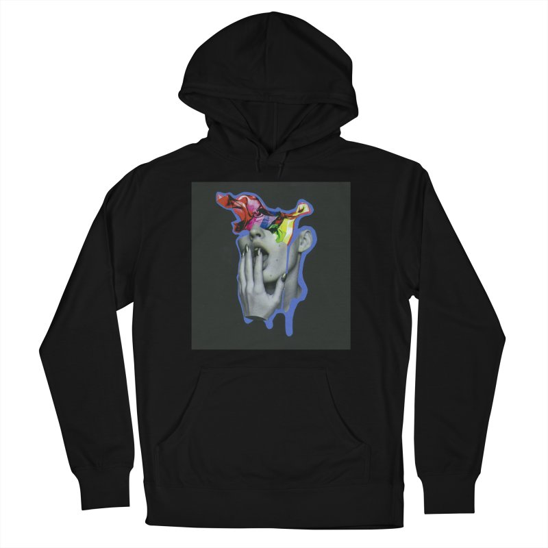 A colorful mind Men's French Terry Pullover Hoody by notes and pictures's Artist Shop