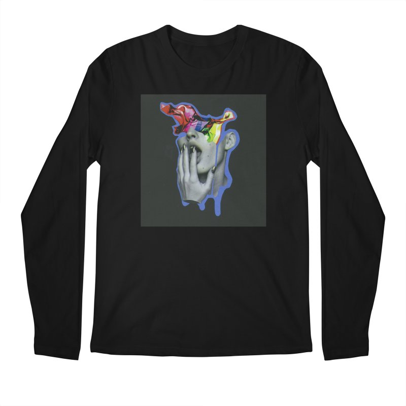 A colorful mind Men's Regular Longsleeve T-Shirt by notes and pictures's Artist Shop