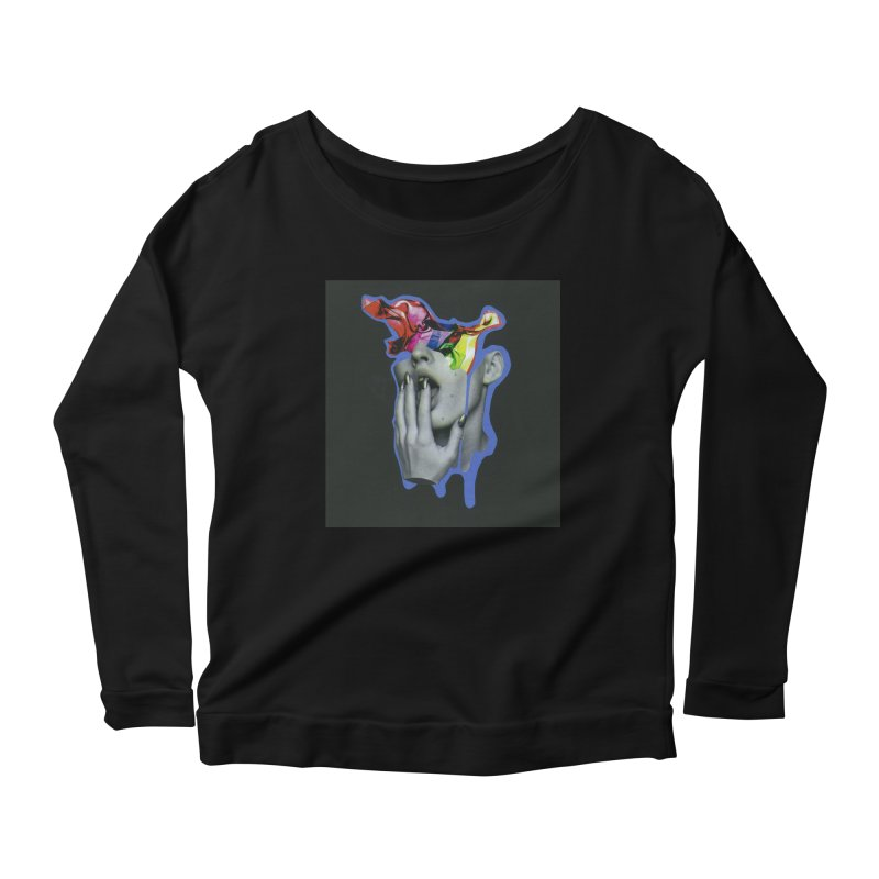 A colorful mind Women's Scoop Neck Longsleeve T-Shirt by notes and pictures's Artist Shop