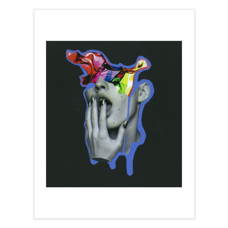 A colorful mind Home Fine Art Print by notes and pictures's Artist Shop