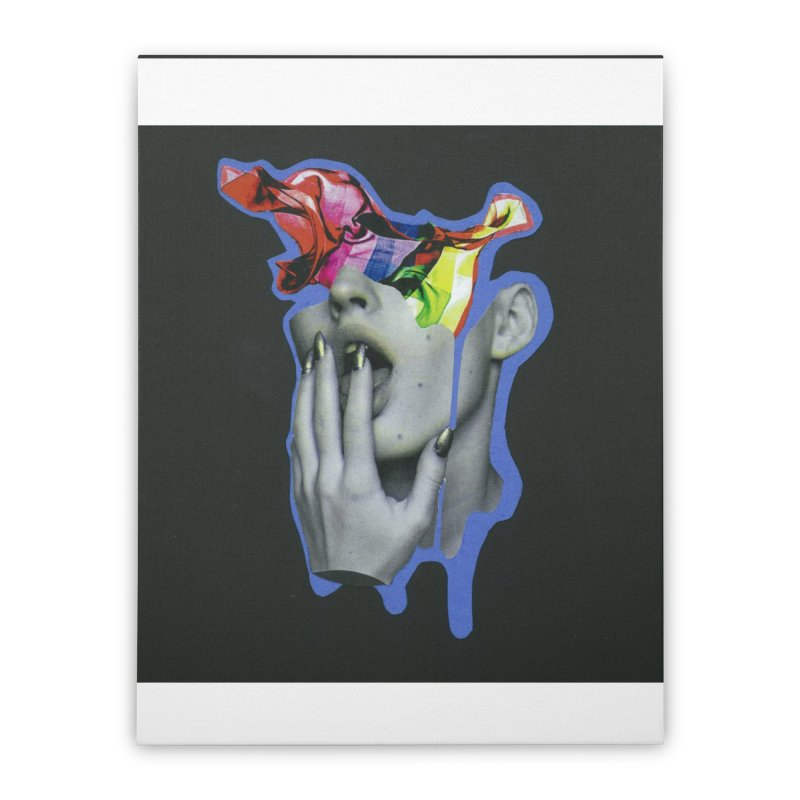 A colorful mind Home Stretched Canvas by notes and pictures's Artist Shop