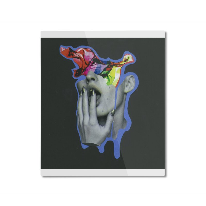 A colorful mind Home Mounted Aluminum Print by notes and pictures's Artist Shop