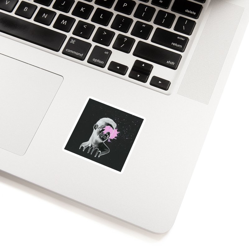 Splatter Brained 3 Accessories Sticker by notes and pictures's Artist Shop