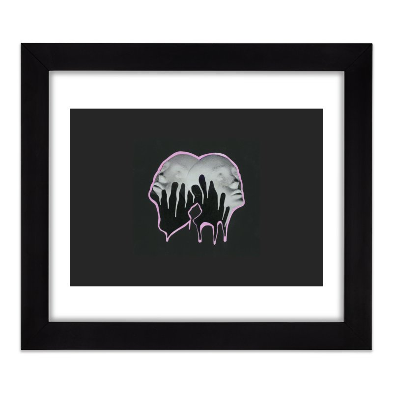 The Twins Home Framed Fine Art Print by notes and pictures's Artist Shop