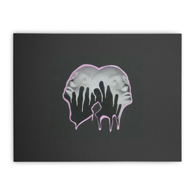 The Twins Home Stretched Canvas by notes and pictures's Artist Shop