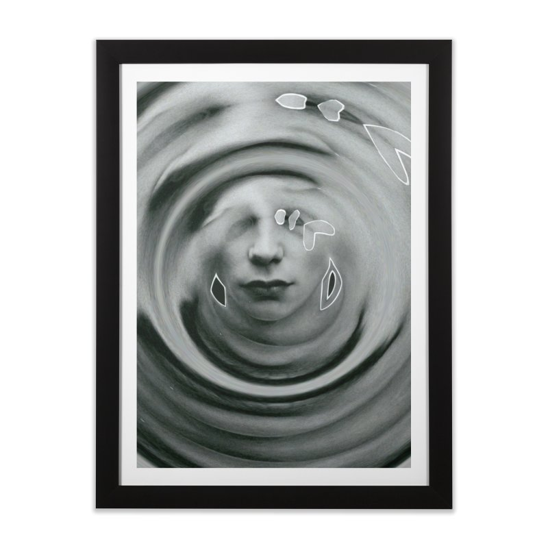 Stoic Swirls Home Framed Fine Art Print by notes and pictures's Artist Shop