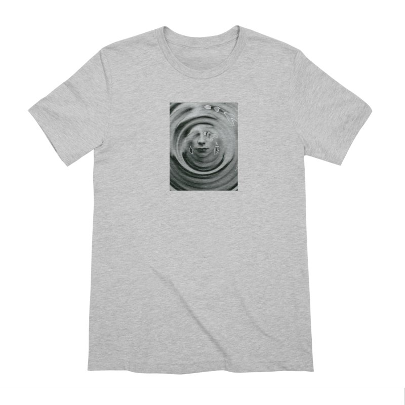 Stoic Swirls Men's Extra Soft T-Shirt by notes and pictures's Artist Shop