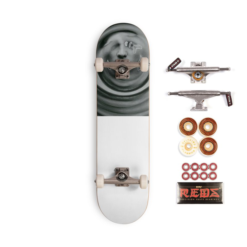 Stoic Swirls Accessories Skateboard by notes and pictures's Artist Shop