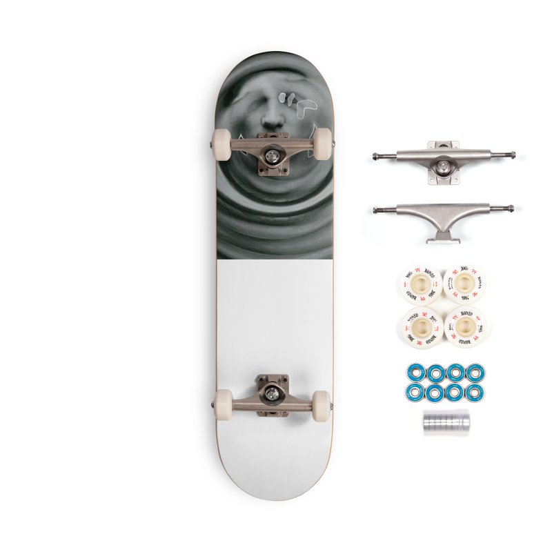 Stoic Swirls Accessories Complete - Premium Skateboard by notes and pictures's Artist Shop