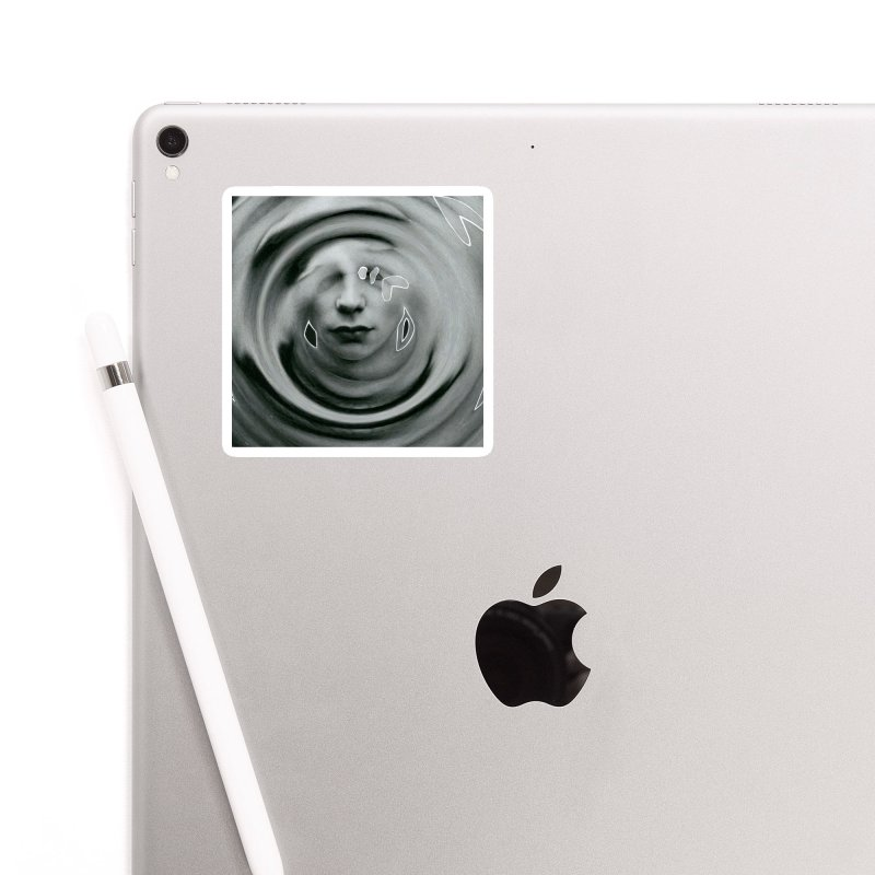Stoic Swirls Accessories Sticker by notes and pictures's Artist Shop