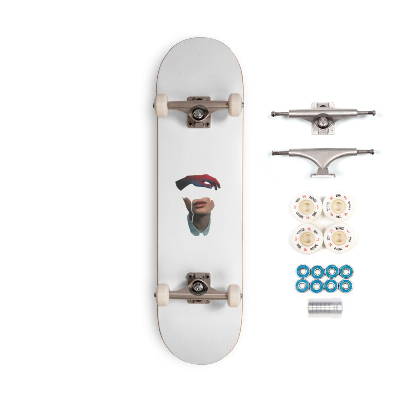 Mental Cover Accessories Complete - Premium Skateboard by notes and pictures's Artist Shop