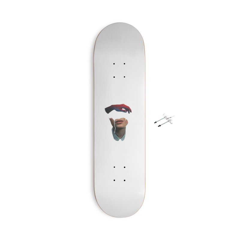 Mental Cover Accessories With Hanging Hardware Skateboard by notes and pictures's Artist Shop