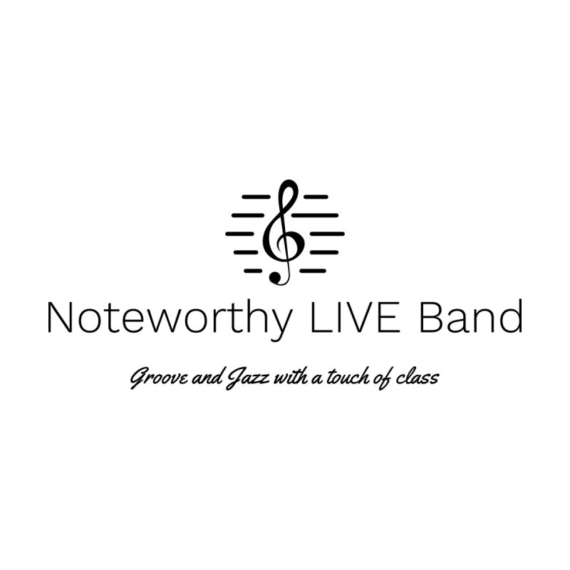Black Logo Men's T-Shirt by Official Threadless Shop for Noteworthy LIVE Band