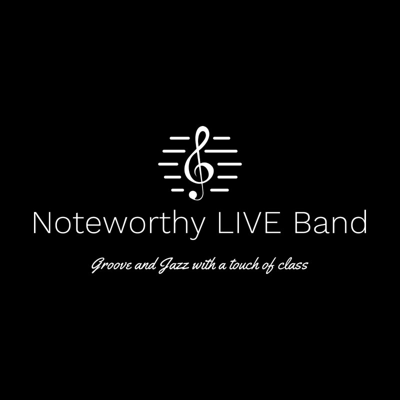 White Logo Men's T-Shirt by Official Threadless Shop for Noteworthy LIVE Band