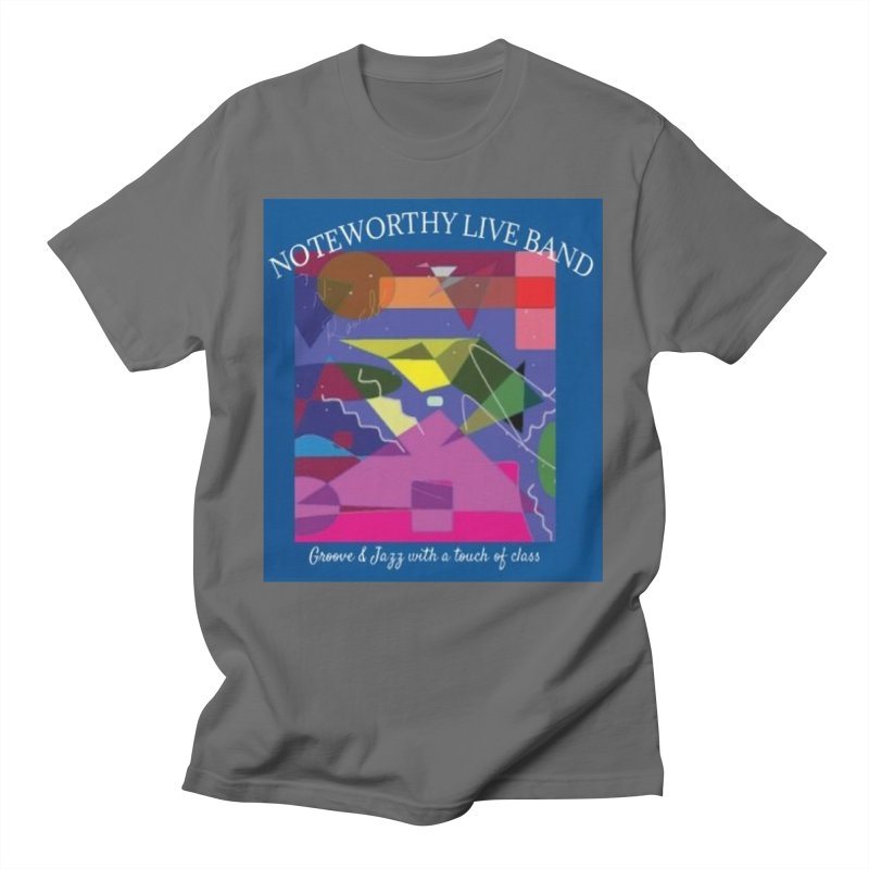 Abstract Men's T-Shirt by Official Threadless Shop for Noteworthy LIVE Band